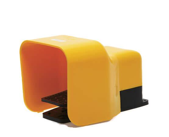 Fußschalter für pneumatische Klebepistolen - für die Verwendung mit stationärer Einrichtung