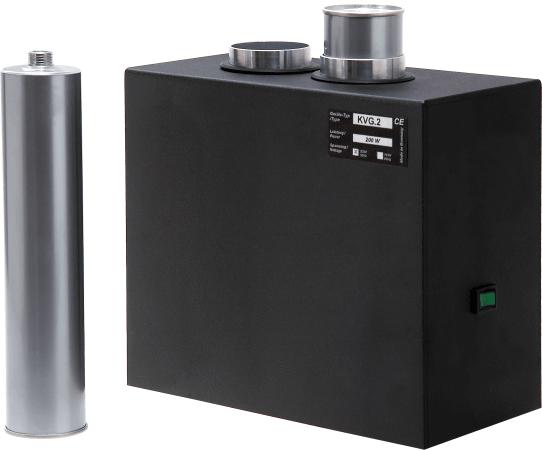 Kartuschenvorwärmgerät KVG für 2 Kartuschen