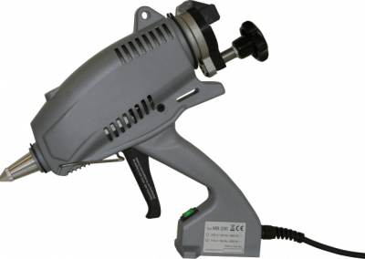 Heavy duty glue gun MS 200 for the packaging industry