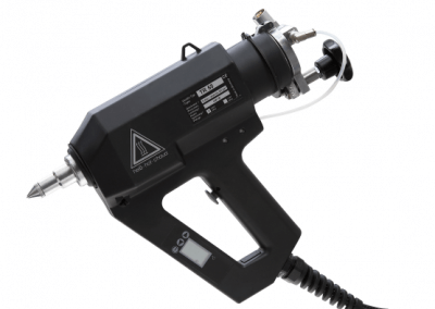 Pneumatic tank glue gun TR 55 LCD for industrial applications
