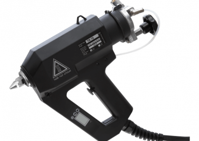 TR 70 LCD glue gun for reactive hotmelts
