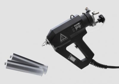 Kartuschenklebepistole TR 70 LCD für reaktive Schmelzklebstoffe wie PUR oder POR