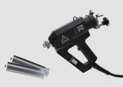 TR 80 LCD Sprühgerät mit Kartuschen