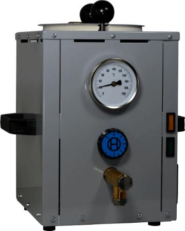 Vorschmelzbehälter VSB 40 für besonders hohen Klebstoffdurchsatz mit Reka Klebepistolen