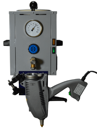 VSB 40 Vorschmelzbehälter mit MS 200.2 Klebepistole
